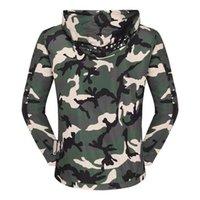 Vestes pour hommes Trenchs Coating italien Original PP Veste à capuche Hiver Camouflage Punk Slim Raccord MOTEURS MANS Vêtements d'extérieur