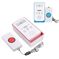 Системы сигнализации Wireless SOS Aqualier Caller System Kits Пожилая помощь Pager Home Безопасность Bell Паника Кнопка для инвалидов Вызов