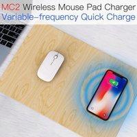 Chargeur de tampon de souris sans fil Jakcom MC2 Dernier produit dans le poignet de la souris Poigne-bracelet sous la souris PMW3360 Vertical Gaming Souris REM