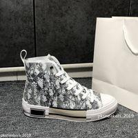 2021 مصمم الأحذية الرياضية B23 قطري ارتفاع الرجال والنساء SENEAKERSB24 التقنية قماش السيدات جلدية عارضة حذاء النحل أعلى جودة أزياء فاخرة 35-45