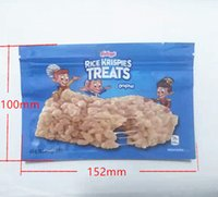 empty rice krispies treats original bars packaging mylar bag...