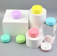 Parfüm Şişesi Şeker Renk Macaron Kozmetik Boş Ruj Dudak Balsamı Konteyner Macarons Alt Şişeleme DIY Dudaklar Parlak Kutu