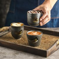 Cups & Saucers RHE 1-3ps Big Capacity Ceramics Cup Porcelain Coffee Latte Specialized Tea Beer Whiskey Glass Drinkware 190ml