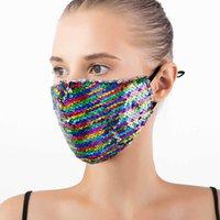 Colore Brillante Film Bilate Fashion Designer Donne traspirante antipolvere antipolvere Decorazione viso da ballo lavabile