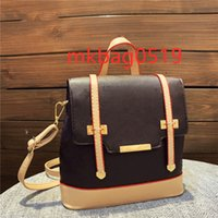 2021Fast Top Grade Cute Lady Fashion Knapsack Classics Palm Springs Backpack Mini genuine leather children Girls women leather luxe designer