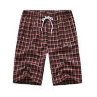 Verano Moda Hombres Pantalones cortos Pantalones cortos Patrón de celosía Casual Fitness BodyBuilding Pocket Sports Shorts Jogger Men's Brands # 4