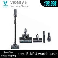 VIIUMI-A9 CABLEA DE VACÍA RECARGABLE Portátil sin cable con colector de polvo de ciclón, hogar, para piso y alfombra, 23000PA