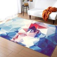 Carpets 3D Modern Geometric Rug For Living Room Decor Carpet Floor Bedroom Door Mat Pad Bathroom Kitchen Large Area