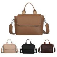 Bags Female Shoulder Women Fashion Casual Shopping Messenger Crossbody Bag Pu Leather Simple Solid Single Should 2021 CZG1