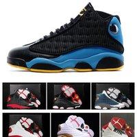 Designer New Flint Bred 13 Chaussures Il a eu l'histoire du jeu de vol Chicago Jumpman 13s Bottes de sport pour hommes