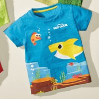 Cute Cartoon Design Kids Clothing Summer sale T shirts ventilation Comfortable Home Sports Tees