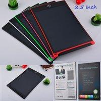 8,5-Zoll-LCD-Schreibentablette Digital Tragbare Memozeichnung Tafel Handwriting Pads Elektronische Tablet-Tafel mit verbesserter Stift für Kinder