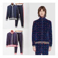 Yeni Erkek Tasarımcı Eşofman Rahat Takım Elbise Mans Kadın Parça Ter Suit Mont Erkekler Ceketler Ceket Hoodie Kazak Spor Çiftler Gucceis Eşofman Boyutu M-3XL