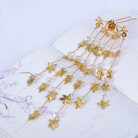 Hair Accessories Traditional Chinese Flower Hairpin Handmade Clip Head Beautiful Girls Tassel Barrette