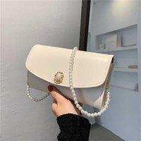 bag armpit Pearl female bag summer 2021 new fashion solid color fashion handbag French minority single shoulder small