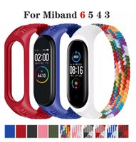 Braided Solo Loop Nylon fabric For Xiaomi Mi Strap 6 5 4 3 Elastic Bracelet Replace Wristband band