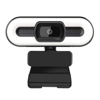 2 K 1080 P Full HD Web Kamerası Ile Dolgu Işık 3.0 Otomatik Odak Kamera PC Bilgisayar Canlı Yayın Video Arama Konferansı için