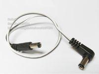CCTV 케이블, 직각 DC 5.5x2.1mm 남성 잭 - 똑바로 남성 플러그 전원 케이블 / 10pcs