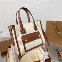 2021 British Style Shopping Denim Bags Elegant Lady Womens Top Handle Totes Street Crossbody Shoulder Large Capacity Famous Designer