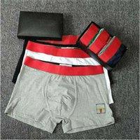 Gucci Hombres boxeadores diseñadores calzoncillos 100% algodón hombres ropa interior ropa interior tamaño M-XXL