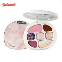 Prodotto di marca 8 Colori Eyeshadow Tavolozza Amber Shell Matte Pearl Blush Make Up Eye Shadow Natural Trimming1
