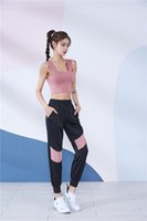 FBF201153 Kadın Yoga Kıyafetler Mor Spor Sutyen Yelek Koşu Egzersiz Spor Gömlek