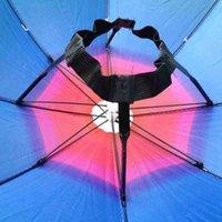 Parapluies 3 couleurs soleil pliable arc-en-ciel pour enfants adultes bandeau réglable bandeau de chapeau parapluie randonnée pêche pare-soleil extérieure Q6GB