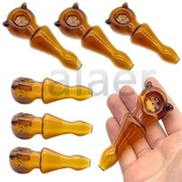 Newest Popular Solide Color Glass Hand Pipes With Snowflake Bowl Bubbler Water Pipe Oil Rig Spoon Smoking Water Pipes