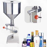 Manual Liquid Filling Machine 5-50ml Quantitative Filling Liquid Paste Honey Cosmetics Cream Shampoo Stainless Steel