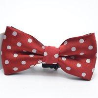 Children Kids Pre Tied Wedding Party Bow Tie Girls Boys Formal Tuxedo Satin Bowtie Necktie Colorful Christmas Baby gift drop 158 Y2