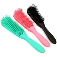 Hair Brushes Scalp Massage Comb Wet Curly Detangling Brush Detangler For Women Men Salon Hairdressing Styling Tools