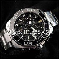 Luxury Gift Swiss Men Tag montres High Quality Stainless Steel Ceramic Bezel Chronograph Quartz Watch Sports orologio da polso catstore