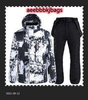 Skiing Suits Thick Warm Men Women Ski Suit Waterproof Windproof Snowboarding Jacket Pants Set Winter Snow Wear High Quality