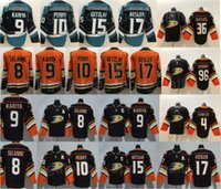 Anaheim Enten Hockey 15 Ryan Getzlaf Jersey 10 Corey Perry 17 Kesler 8 Teemu Selanne 9 Paul Kariya Cam Fowler John Gibson