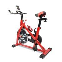 Красный Спиннинг Велосипед Стационарное Упражнение Фитнес Велоспорт Велосипед Кардио Домашняя Спорт Тренажерный зал Оборудование для внутреннего оборудования