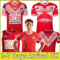 2019 Tonga City Rugby League Jersey National Team Rugby Home Court Away Gioco 17 19 Camicia League Top Uniforme per bambini Abbigliamento per bambini Polo Gilet T-Shirt Top Uniforme