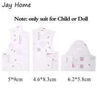 3pcs Mini 1:5 Clothing Design Ruler Drawing Template Tailors Ruler Pattern Making Sewing Measure DIY Sewing Supplies