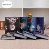 """Kreative Farbseite mit Lock Notebook """"Like Traum"""" Tagebuchbuch Nette Funktionsplaner Log Tagebuch Schreibwaren Geschenkbox Verpackung 210611"""
