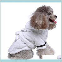 Pet Supplies Home & Gardenpet Pajama Cat Dog Bathrobe Sleeping Clothes Indoor Soft Bath Drying Towel For Puppy Cats Aessories Grooming Drop