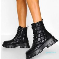 Boots 2021 Retro Embroidered Western Cowboy PU Leather Women Mid-Calf Block Heel Square Toe Ladies Shoes Punk