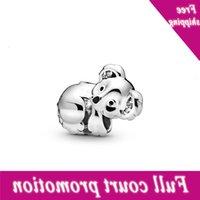 100% real 925 esterlina prata bonito bebê koala caber original 3mm pulseira pulseira para mulheres aniversário moda jóias presente