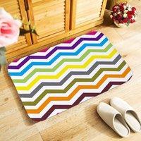 Carpets Small Area 40x60cm Outdoor Entrance Floor Rug For Bedroom Kitchen Hallway Doormat Anti-slip Door Mat 15 Styles Geometric Carpet
