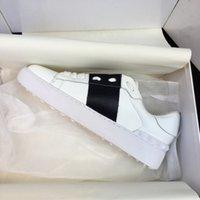 Großhandel Männer Frauen Designer Sneakers Offene Schuhe mit Topqualität 9 Farben Original Box Trainer Größe 35-48 Zu verkaufen