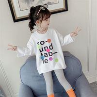أطفال كبير الفتيات القمصان ins fashions الصيف الطباعة المحملات قصيرة الأكمام قمم 717 x2
