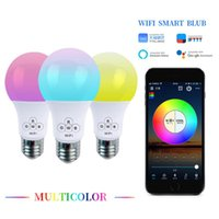 Bulbs Smart WiFi Bulb E27 4.5W RGBW Change Color Magic Lamp Alarm Clock Lights Compatible With Alexa And Google Assistant