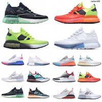 [Kutu ile] 2021 Orijinaller ZX 2 K Koşmak Mesh Ultra Ayakkabı Yaz Moda Koşu Ayakkabıları Kadın Erkek Üçlü Beyaz Siyah Tasarımcı Sneakers 36-45