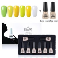 Nail Art Kits Elite99 8PCS / SET 7 мл гель-лаки с подарочной коробкой Замочить цветные серии UV Kit Украшение маникюра набор