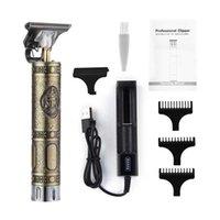 CKeyin Elétrico Barbeador de cabelo Trimmer Profissional de Cabelo Profissional Clippers Barbeiro Corte de Cabeleireiro T9 Baldheaded 0mm máquina de corte X0625
