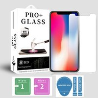 9H Explosion Proof Premium Clear Transparent 2.5D Tempered Glass Screen Protector For iPhone 13 Pro Max 12 Mini 11 XS XR X 8 7 6 6S Plus SE With Retail Package
