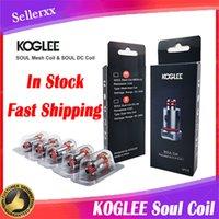 Authentische Koglee Soul Spule Kopfgeflecht 0.3Ohm DC 0.8OHM Ersatz Dual-Spulen für RPM 2 4 RPM40 RPM80 VAPE-Kartusche Pod Pen-Kit Original
